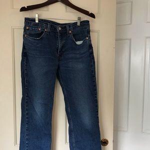 Mens Straight Levi's Jeans.